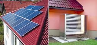 Fotovoltaické elektrárny s tepelným čerpadlem