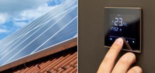 Fotovoltaické elektrárny s ohřevem vody